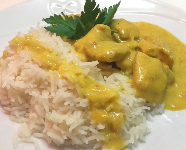 pollo al curry miniatura