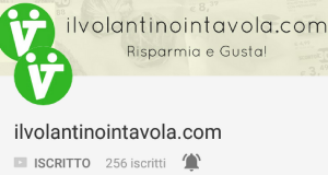 link youtube 1 canale ilvolantinointavola